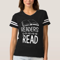 Readers Gonna Read Football Shirt