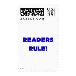 Readers Rule! Postage Stamp