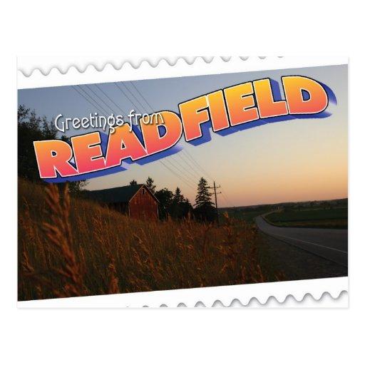 Readfield, Wisconsin farm Post Cards