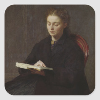 Reading, 1863 square sticker