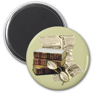 Reading 2 Inch Round Magnet