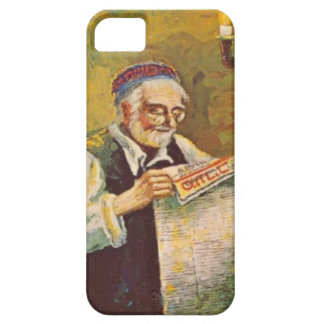 Reading a Hebrew newspaper iPhone SE/5/5s Case