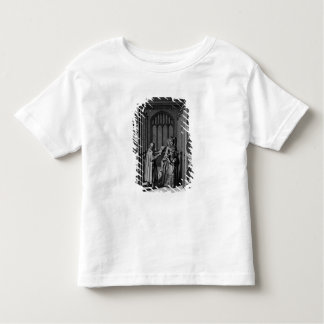 Reading a letter to Queen Elizabeth I Toddler T-shirt