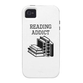 Reading Addict Case-Mate iPhone 4 Cases