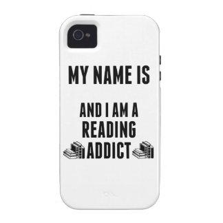 Reading Addict Case-Mate iPhone 4 Cover