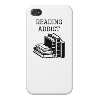 Reading Addict Covers For iPhone 4
