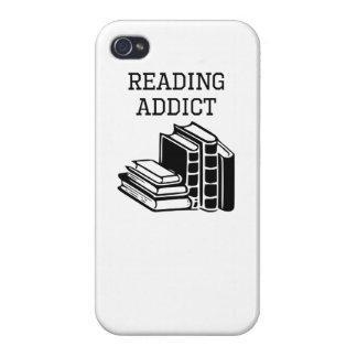 Reading Addict iPhone 4 Cover