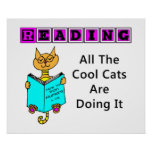 Reading, All The Cool Cats Are Doing It Posters