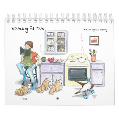 Reading All Year - calendar