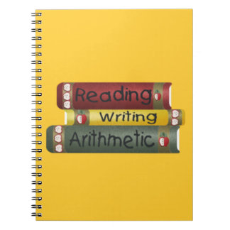 Reading and Writing and Arithmetic Notebook