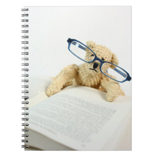 Reading Bear Notebook