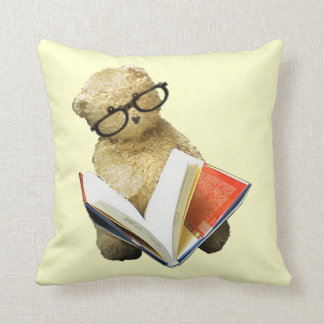 Reading Bear Pillow