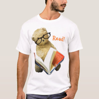 Reading Bear - t-shirt