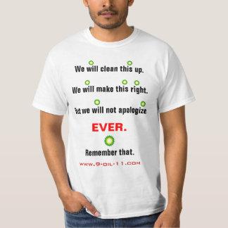 Reading Between the BP 'Lie'nes T-Shirt