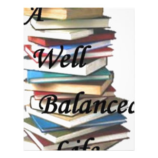 Reading Books Life Letterhead