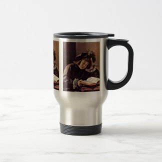 Reading Boy By Hals Frans Mugs