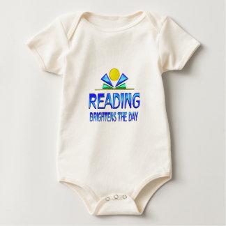 Reading Brightens the Day Baby Bodysuit