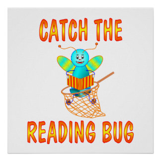 READING BUG POSTER
