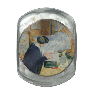 Reading by the Bedside Glass Jars
