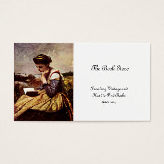 Reading By The Lake Business Card