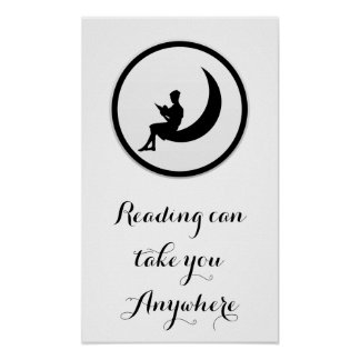 Reading Can Take You Anywhere Poster