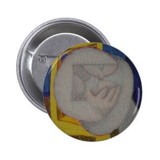 Reading Chair Pinback Button