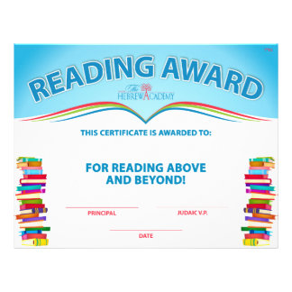 Reading Counts Award Flyer