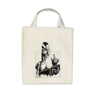 Reading from the Book Tote Bags