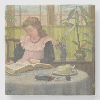 Reading Stone Coaster