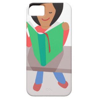 Reading Girl iPhone SE/5/5s Case