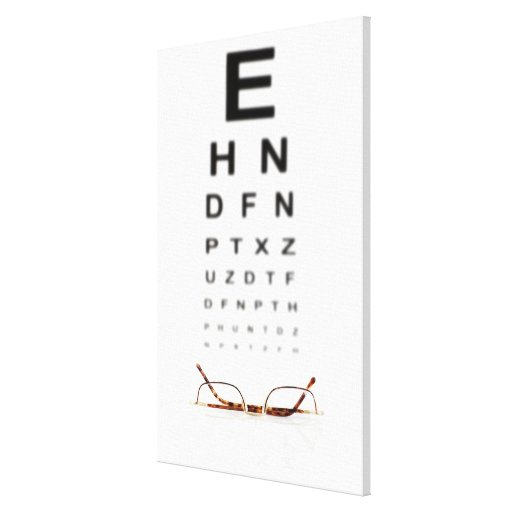 Reading Glasses Canvas Print