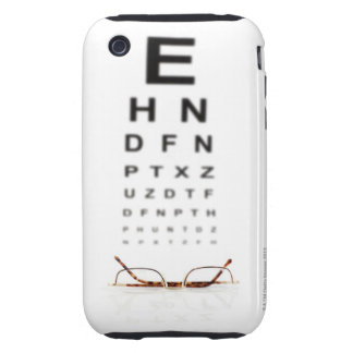 Reading Glasses Tough iPhone 3 Cases