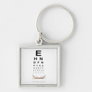 Reading Glasses Keychain