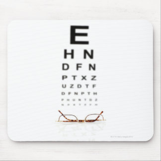 Reading Glasses Mouse Pad