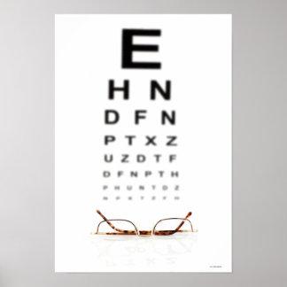 Reading Glasses Poster