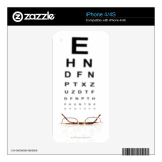 Reading Glasses Decal For The iPhone 4S