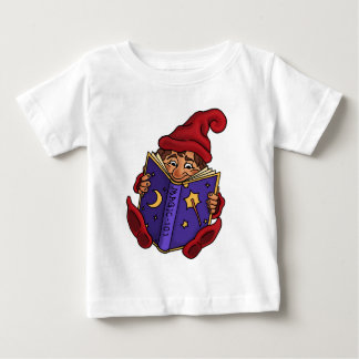 reading gnome infant t-shirt