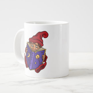 reading gnome specialty mug