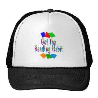 Reading Habit Trucker Hat