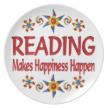 Reading Happiness Plates
