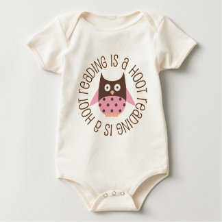 Reading Is A Hoot Baby Bodysuit