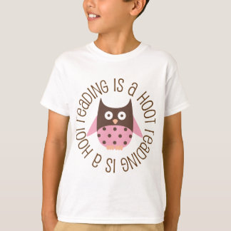 Reading Is A Hoot T-Shirt