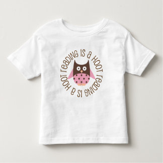 Reading Is A Hoot Toddler T-shirt