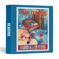 READING IS COOL BINDER