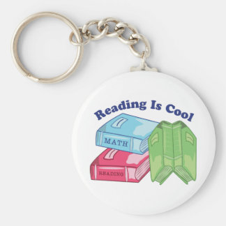 Reading Is Cool Key Chain
