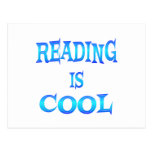 Reading is Cool Postcard