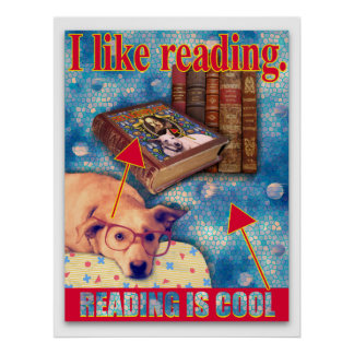 READING IS COOL PRINT