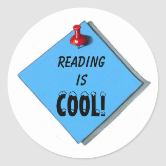 READING IS COOL STICKERS
