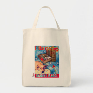 READING IS COOL TOTE BAG