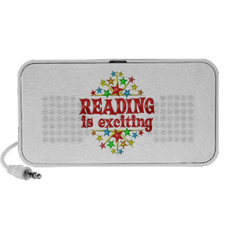 Reading is Exciting Travel Speaker